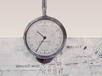 Оборудование прямого измерения расстояний по карте и плану