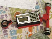 Геодезические инструменты для измерения - планиметры и курвиметры