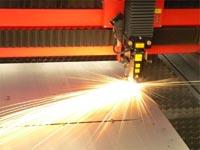 Лазерное оборудование для резки металла при строительстве загородного дома