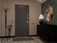 Модельный ряд металлических входных дверей Гефест для загородного дома