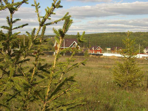 Земельный участок 18 соток, 90 км от МКАД по Симферопольскому шоссе, п. Заречье Вилладж