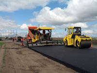 Дорожное строительство в загородных поселках