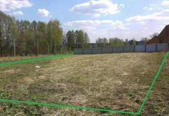 Земельный участок 12 соток, 28 км от МКАД по Дмитровскому шоссе, д. Ермолино