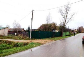 Земельный участок 8 соток, 65 км от МКАД по Дмитровскому шоссе, д. Подмошье