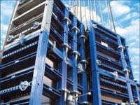 Монолитная опалубка для строительства промышленных зданий