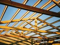 Использование стальной балки в загородном строительстве