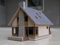 Заказать макет загородного дома