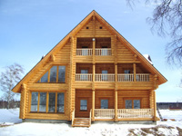 Строительство деревянных домов на земельных участках Минска