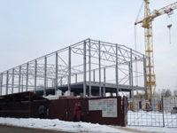 Каркасные здания из металлоконструкций для земельного участка по Дмитровскому шоссе