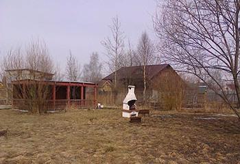 Земельный участок 10 соток, со строением, 26 км от МКАД по Дмитровскому шоссе, д. Глазово