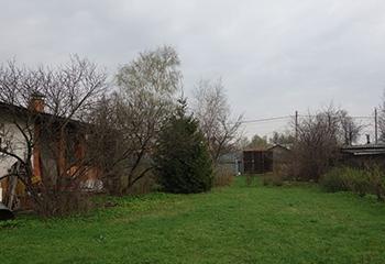 Земельный участок 12 соток, со строением, 7 км от МКАД по Дмитровскому шоссе, г. Долгопрудный