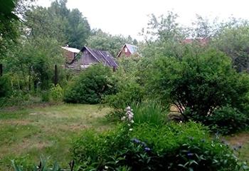 Земельный участок 6 соток, со строением, 55 км от МКАД по Дмитровскому шоссе, д. Буденовец