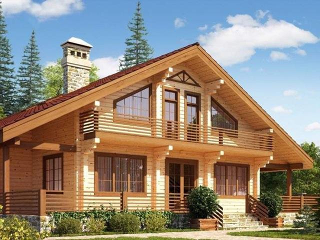В чем заключается популярность домов из клееного бруса у собственников земельных участков по Дмитровскому шоссе?